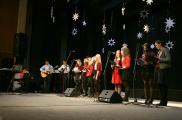 Zespół muzyczny z II Liceum Ogólnokształcącego w Chojnicach
