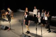 Zespół muzyczny z Chojnickiego Domu Kultury