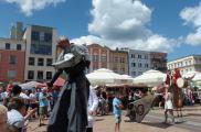 Parada teatrów z ChCK na Stary Rynek