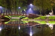 Park Tysiąclecia w Chojnicach
