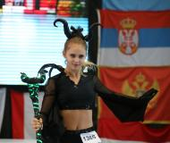 "Monika Guentzel w choreografii ""Diabolina"""
